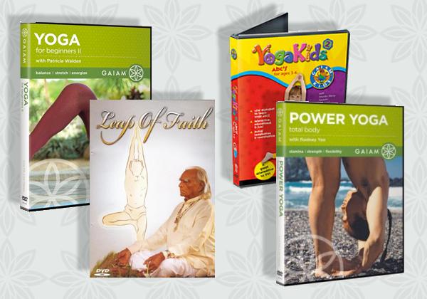 Yoga DVDs & CDs