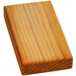 Yoga Block - Half Thickness - Wood - Wholesale