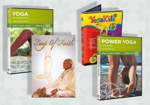 Yoga DVDs & CDs