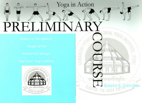 Yoga in Action - Preliminary Course cover