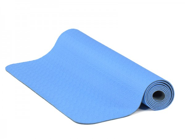 TPE Yoga Mat - BLUE ONLY - END OF LINE