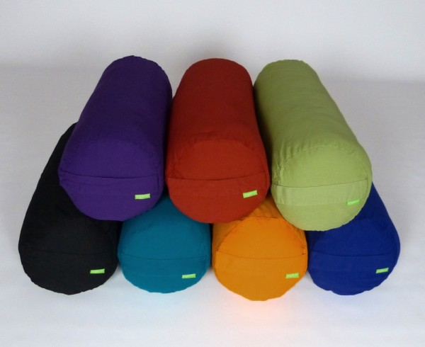 Organic Cotton Yoga Bolster - Large with Çover - OUT OF STOCK UNTIL 20 JUNE