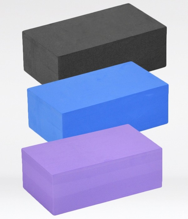 Yoga Block - High Strength Foam - Standard Size