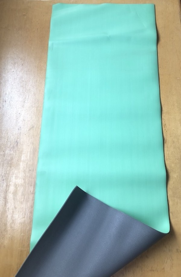 Hot yoga mat, Green - Seconds and Samples Sale