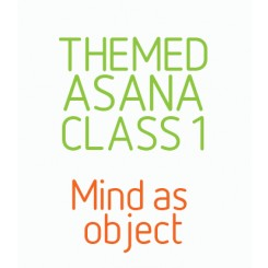Themed Audio Asana Class 1 - Mind as object. Restoratives.Audio series mind as object