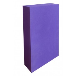 Half thickness yoga foam block