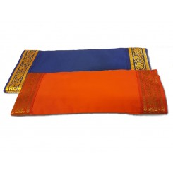 Eye Pillow with removable cover with gold trim - Wholesale