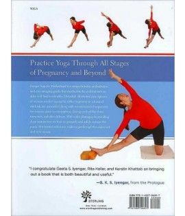 Iyengar Yoga for Motherhood front cover