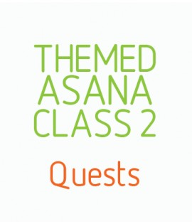 Themed Asana Classes- Class 2 - Quests