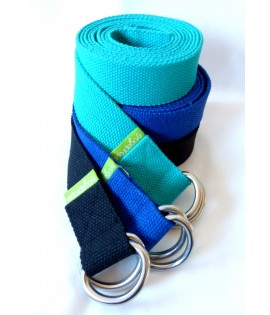 Yoga Belt - 37mm - D-ring
