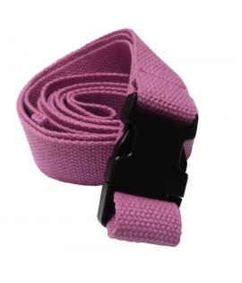 Yoga Belt - 32mm x 2.4m - Snap Buckle