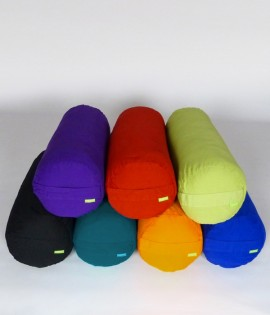 Eco Yoga Bolsters - 100% Recycled Poly Filling with Organic Cotton Cover