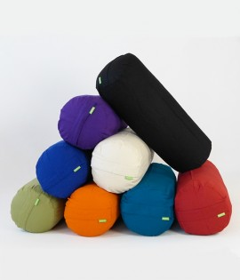 Eco Yoga Bolsters - Large with Organic Cotton Cover - Out of stock until Mid April