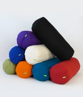 Organic Cotton Bolsters - Large with Organic Cotton Cover