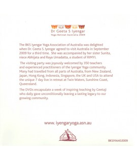 Yoga Retreat Australia with Geeta Iyengar 2009 - iyogaprops