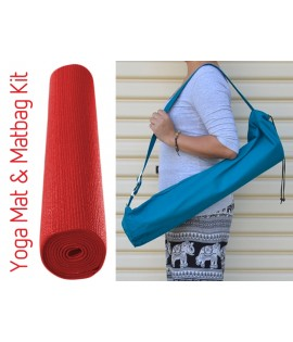 Yoga Mat & Mat bag Kit - 2 items