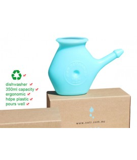 Neti pot - Blue neti pot 350ml capacity