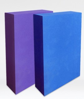 Yoga Block - High Strength Foam - Half Thickness