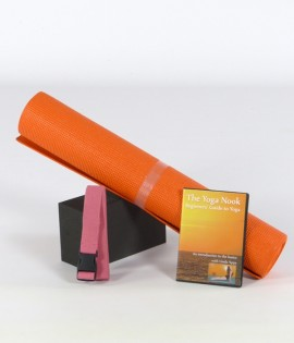 Introductory Yoga Kit with DVD - 4 items