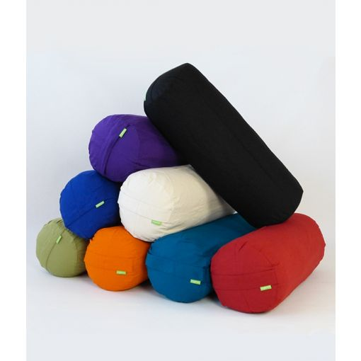 Organic cotton bolsters with cover