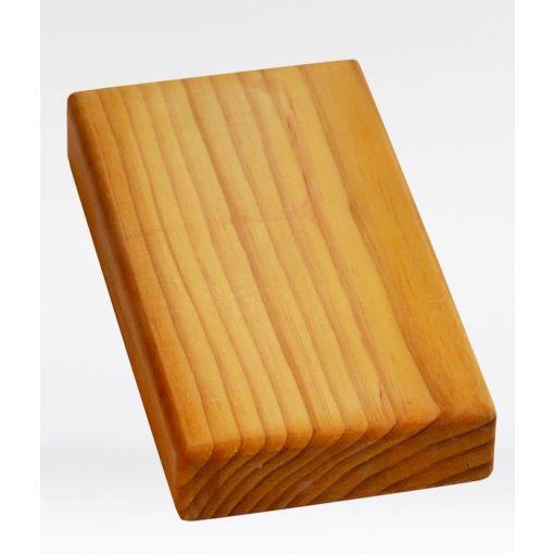 Half Thickness Yoga Block - Wooden