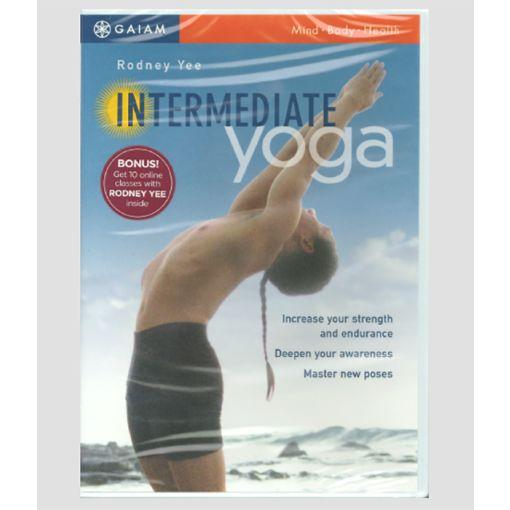 Intermediate Yoga with Rodney Yee cover