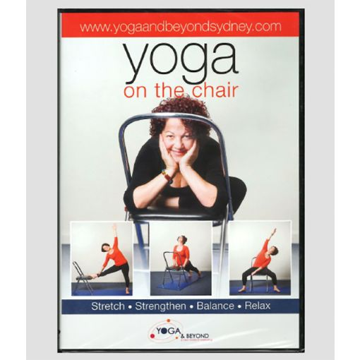Yoga on the chair DVD cover