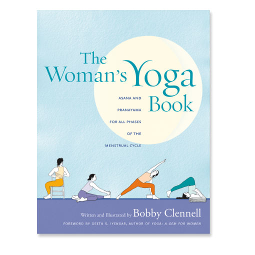 The Woman's Yoga Book front