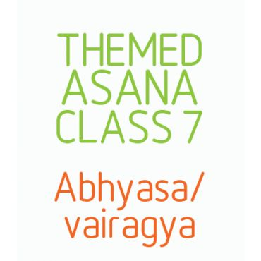 Abhyasa/ Vairagya. Action/ observation, dispassion