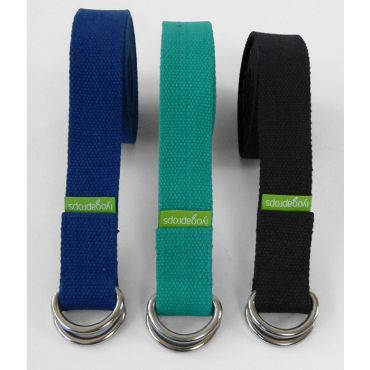 D - Ring - Teal, blue and black