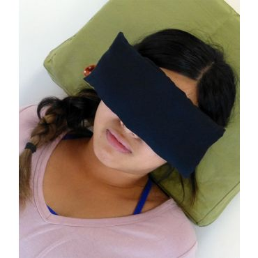 Silk Eye Pillow black