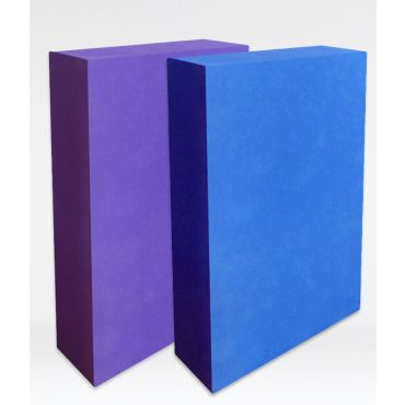 Half Thickness Yoga Block - Foam