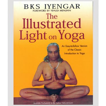 The illustrated light on yoga Cover