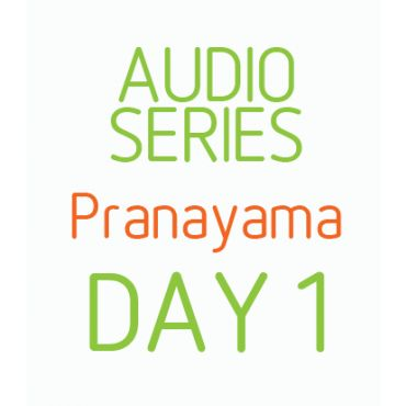 Home practice audio series - Pranayama Day 1
