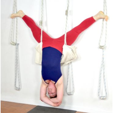 Yoga Wall Ropes demo
