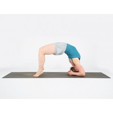 Studio Yoga Mat 6mm charcoal/grey