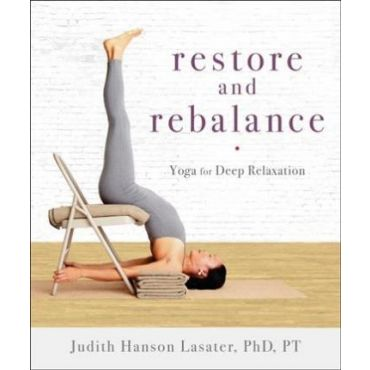 Restore & Rebalance front cover - yoga for deep relaxation